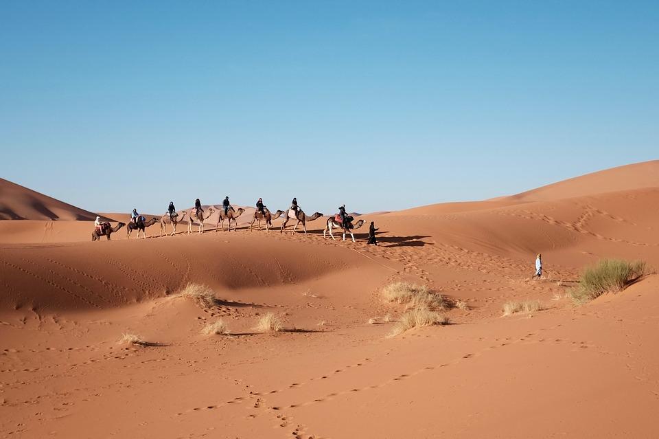 Egipt - zwiedzanie pustyni na wakacjach